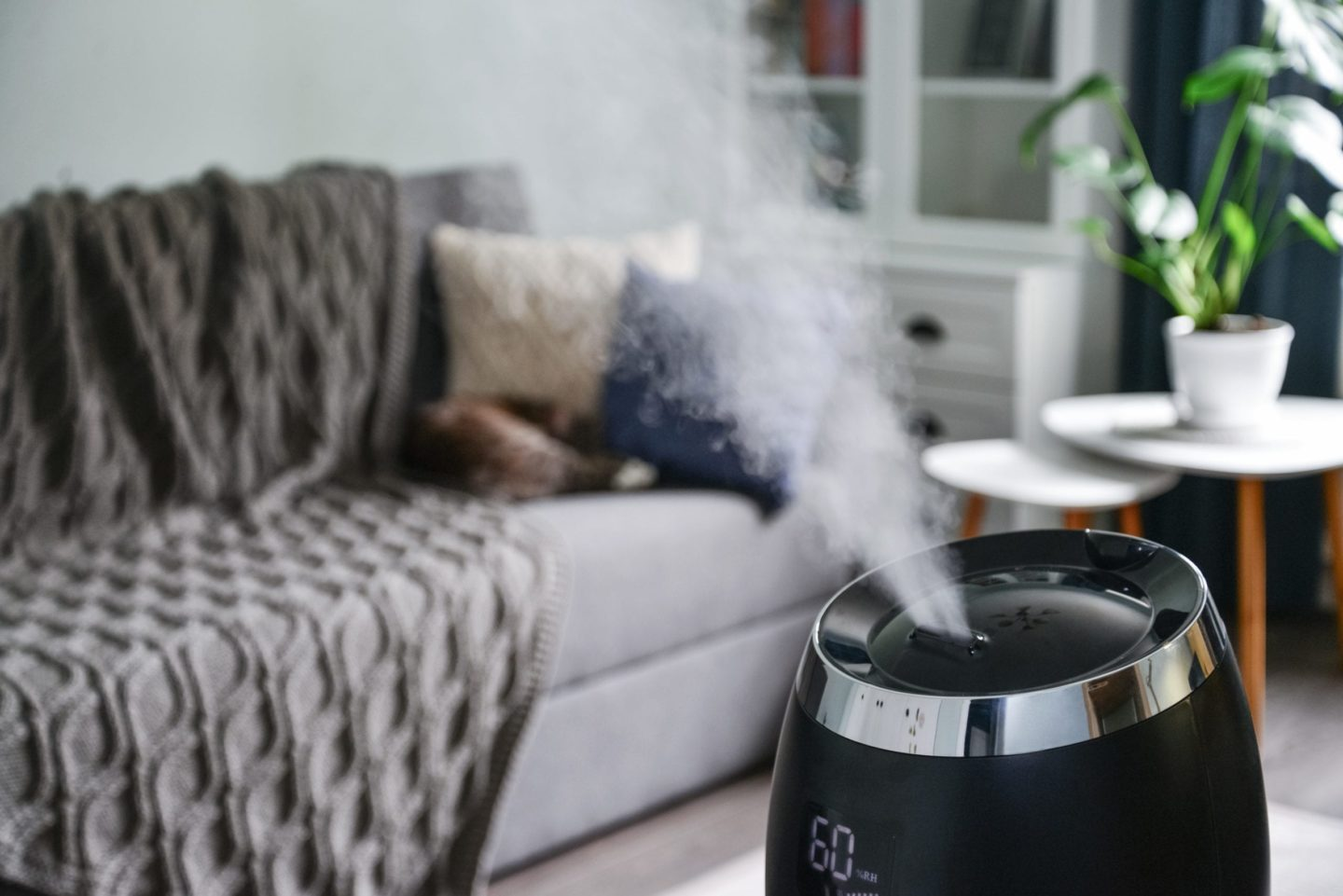 The Best Benefits Of A Cool Mist Humidifier in Edwardsville, Illinois.